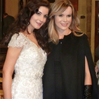 Margaret with fellow patron to HRH's Foundation Amanda Holden