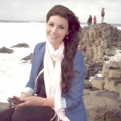 Margaret's favourite place to relax- The beautiful Giant's Causeway in Ireland